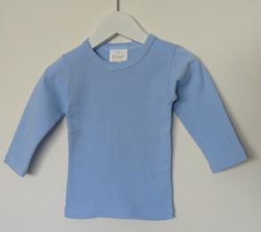 Långärmad tröja - Ljusblå - Stl. 70 Långärmad tröja ljusblå