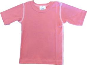 Barn T-shirt Sportig - Rosa 70cl - T-shirt Rosa stl.70