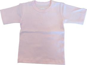 Barn T-shirt Sportig - Ljusrosa - T-shirt Ljusrosa stl.70