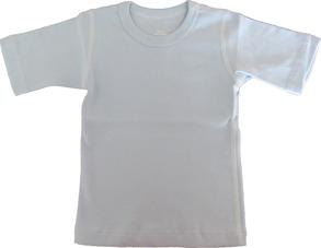 T-shirt Kortärmad Sportig 70-110cl- Ljusblå - T-shirt Ljusblå stl.70