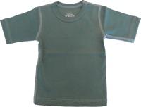 T-shirt Kortärmad Sportig - Militärgrön 70-110cl