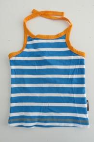 Halter Neck - Stripes Blue - Maxomorra 86/92cl - Halterneck blue 86/92cl