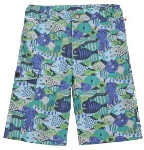 Shorts - långa havsdjur 3-4år - Shorts barn 3-4år (104cl)