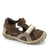 Sandaler barn stängd tå
