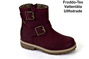 Froddo Bikerkänga Vinröd Mille - G3160072-4 (Stl. 31 samt35) - Storlek 31 - 19,8m