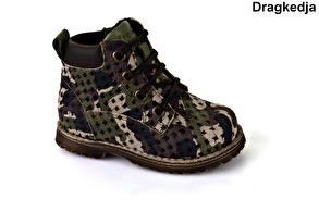 Kamuflagefärgad barnkänga - Froddo G2110056-3 (Stl. 19-30) - Storlek 19 - 12,0cm