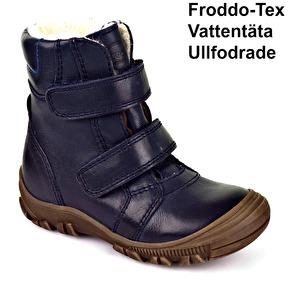 Froddo Barnskor Vinterskor Mörkblå Kid - G3110074 (Stl. 20-21) - Stl. 20 mått 12,0cm