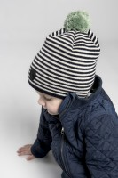 Tove Jr. Knitted Striped Blue