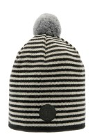 Tove Jr. Knitted Striped Black - 3-7år