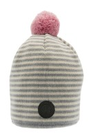 Tove Jr. Knitted Striped Grey
