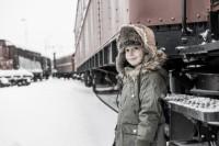 Esbjörn Jr. Faux Suede Brown 6-9mån
