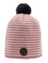 Tove Jr. Knitted Striped Pink - 1-3år - 1-3år Knitted Striped Pink