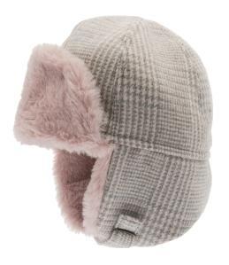 Barnmössa vinter Alaska rosa