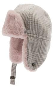 Alaska Jr. Glencheck Pink-Grey 9-18mån, 2-3år - 48 cm - 9-18mån Alaska rosa