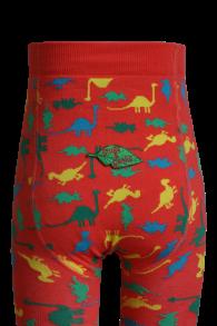 Barnstrumpbyxor Dinosaurier - med halkskydd 0-6år - Dinosaurier (56-68cl) 0-6mån