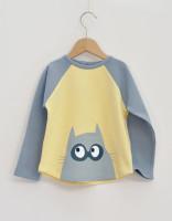 Bat cat Långärmad T-shirt 114cl