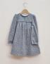 Klänning baby/barn ljusblå långärmad 86cl - Klänning 24 mån (86cl)