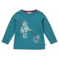 T-shirt barn långärmad - Robot 86cl, 116cl