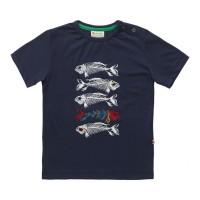 Barn T-shirt kortärmad - Fiskben 2-7år