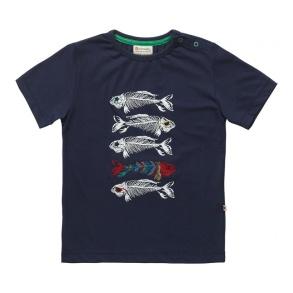 Barn T-shirt kortärmad - Fiskben 2-7år - Fiskben 7-8år (128cl)