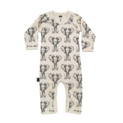 Baby pyjamas elefanter