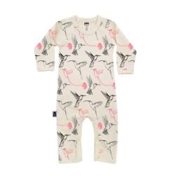 pyjamas baby kolibri ekologisk