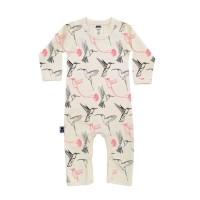 Babypyjamas/lekdräkt - Kolibrier 0-3mån, 12-18mån