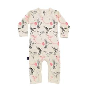 Babypyjamas/lekdräkt - Kolibrier 12-18mån - Babypyjamas kolibrier 12-18mån