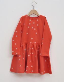 Barn klänning paprika