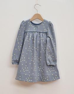 Barn klänning blå