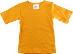 T-shirt barn enfärgad orange