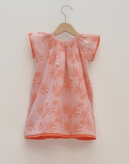 Sommarrea babyklänning