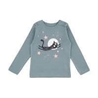 Barn t-shirt långärmad - Blå 3år