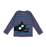 Barn t-shirt långärmad - Randig