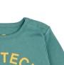 Barn t-shirt - Protect my world - Havsgrön 1-6år