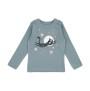 Barn t-shirt långärmad - Blå 3år - Barn t-shirt flygande blå 3år (94cl)