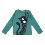 Barn t-shirt långärmad - Don´t go - Havsgrön 12mån, 4är, 6år - Barntröja DG 6år (114cl)