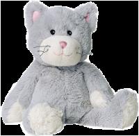 Warmies - Grå Katt - Värmenalle - Tvättbar