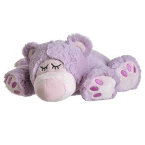 Warmies - Sömnbjörn Lila - Värmekudde - Tvättbar - Warmies - Sömnbjörn Lila