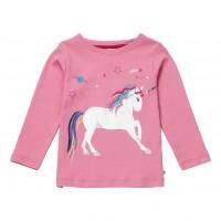 Barntröja Enhörning - Dusty Pink 5-6år