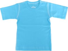 T-shirt kortärmad för barn - Turkose 70cl - T-shirt Turkose stl.70