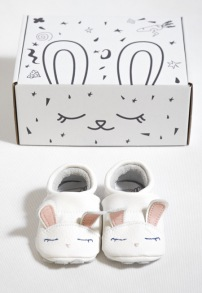 Mockasiner till baby - kanin 3-21mån - Mockasiner kanin S (3-9mån) 9,5-10,5cm