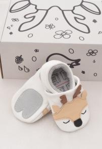 Mockasiner till baby - rådjur - Mockasiner rådjur S (3-9mån) 9,5-10,5cm