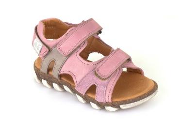 skor barn rosa