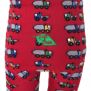 Ekologiska barnstrumpbyxor med lastbilar - Lastbil 104cl (3-4 år)