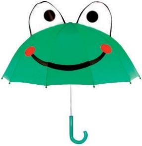 Paraply för barn - Groda - Barnparaply Groda
