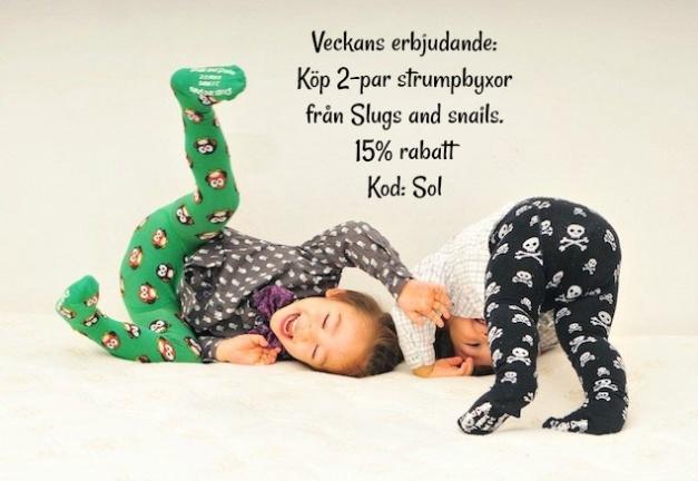 Veckans erbjudande barnkläder
