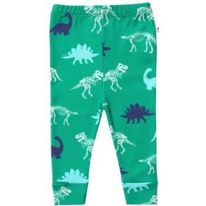 Byxor/leggings - Dinosaurie 0mån-18mån - Barnbyxor dinosaur 0-3mån
