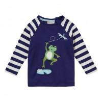 Barntröja med raglan ärm - Groda 12mån-3år
