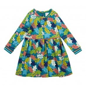 Klänning - Blad Kamouflage 2-7år - Camo klänning 2-3år